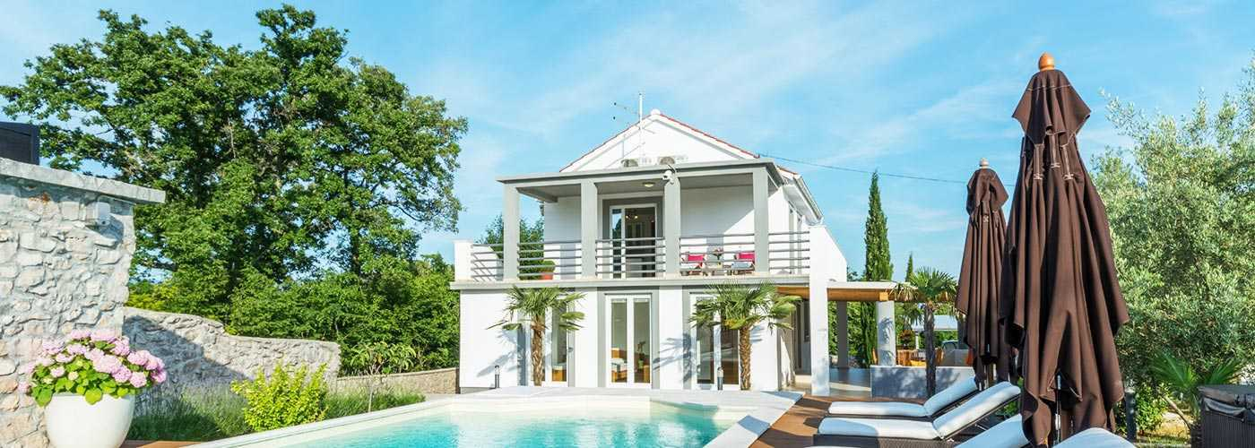 Luxury Villa Krk with pool in Croatia