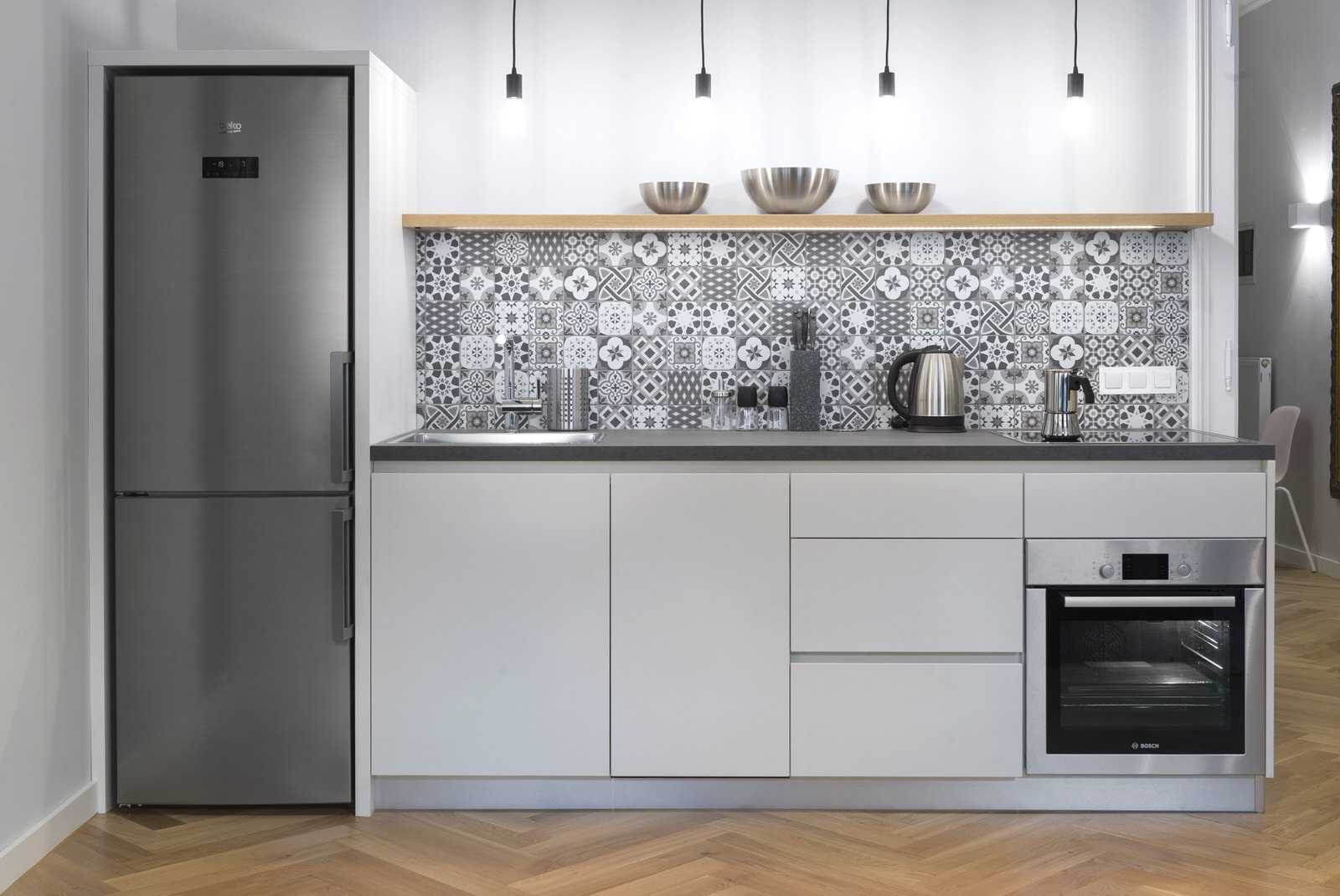 New appliances in Ljubljana rental apartment kitchen