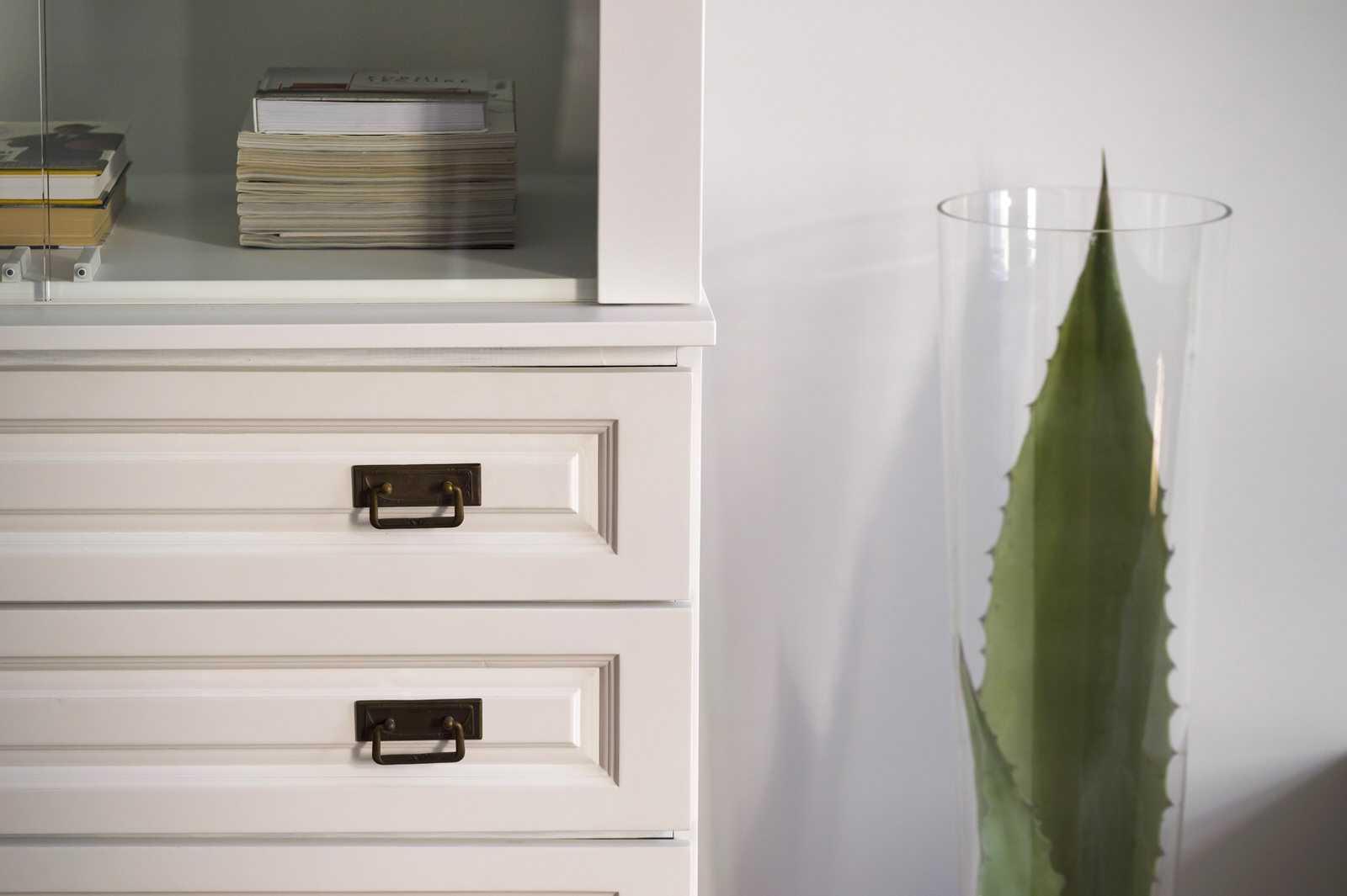 Antique wardrobe brings eye-catching detail to Ljubljana rental apartment
